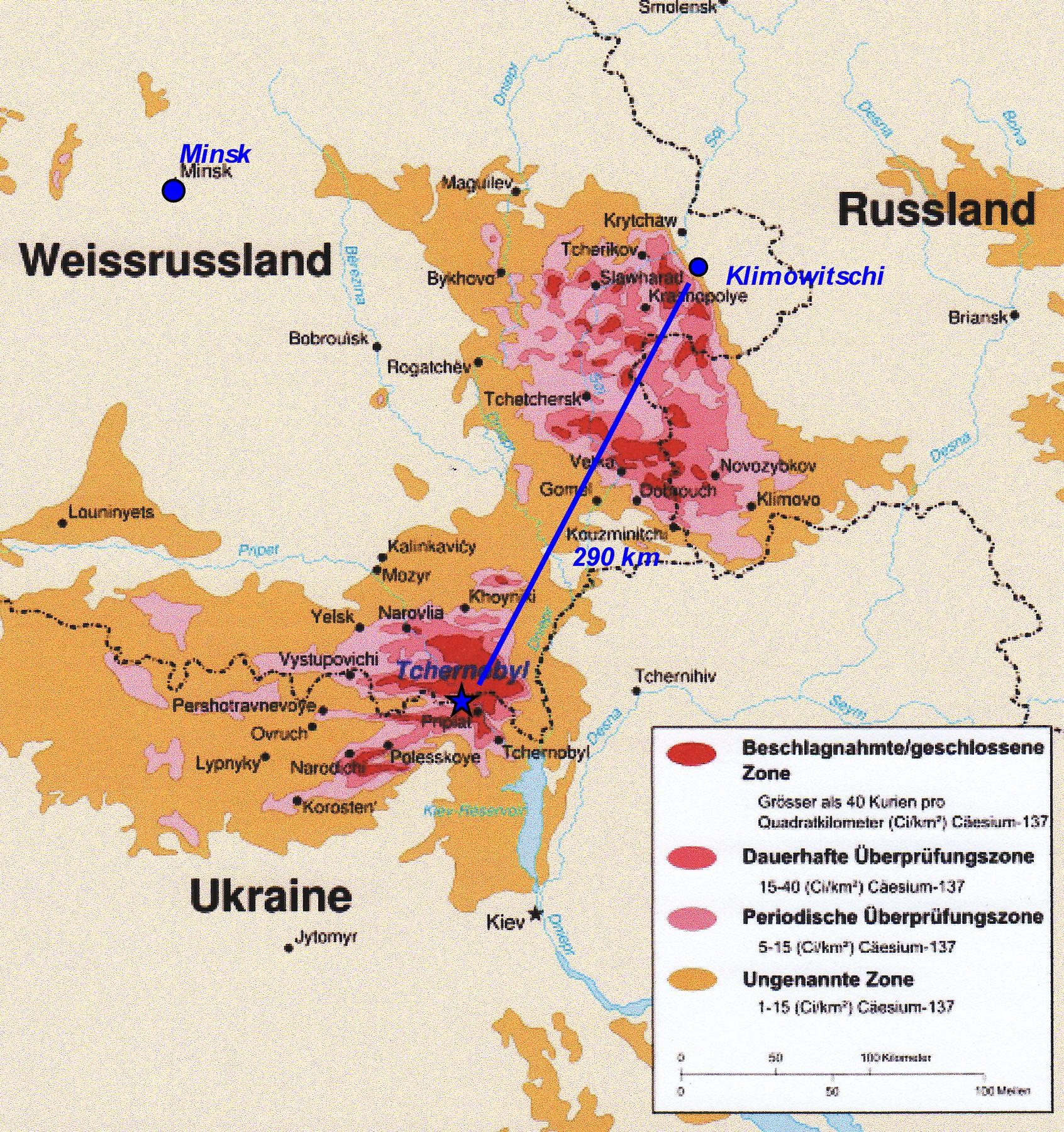 Tschernobyl Karte.1 Karte Tschernobyl Stiftung We Help