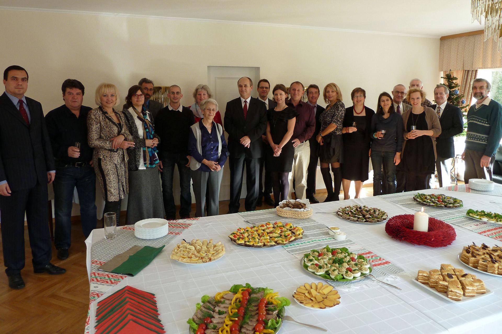 Weihnachtsfeier in der Belarussischen Botschaft