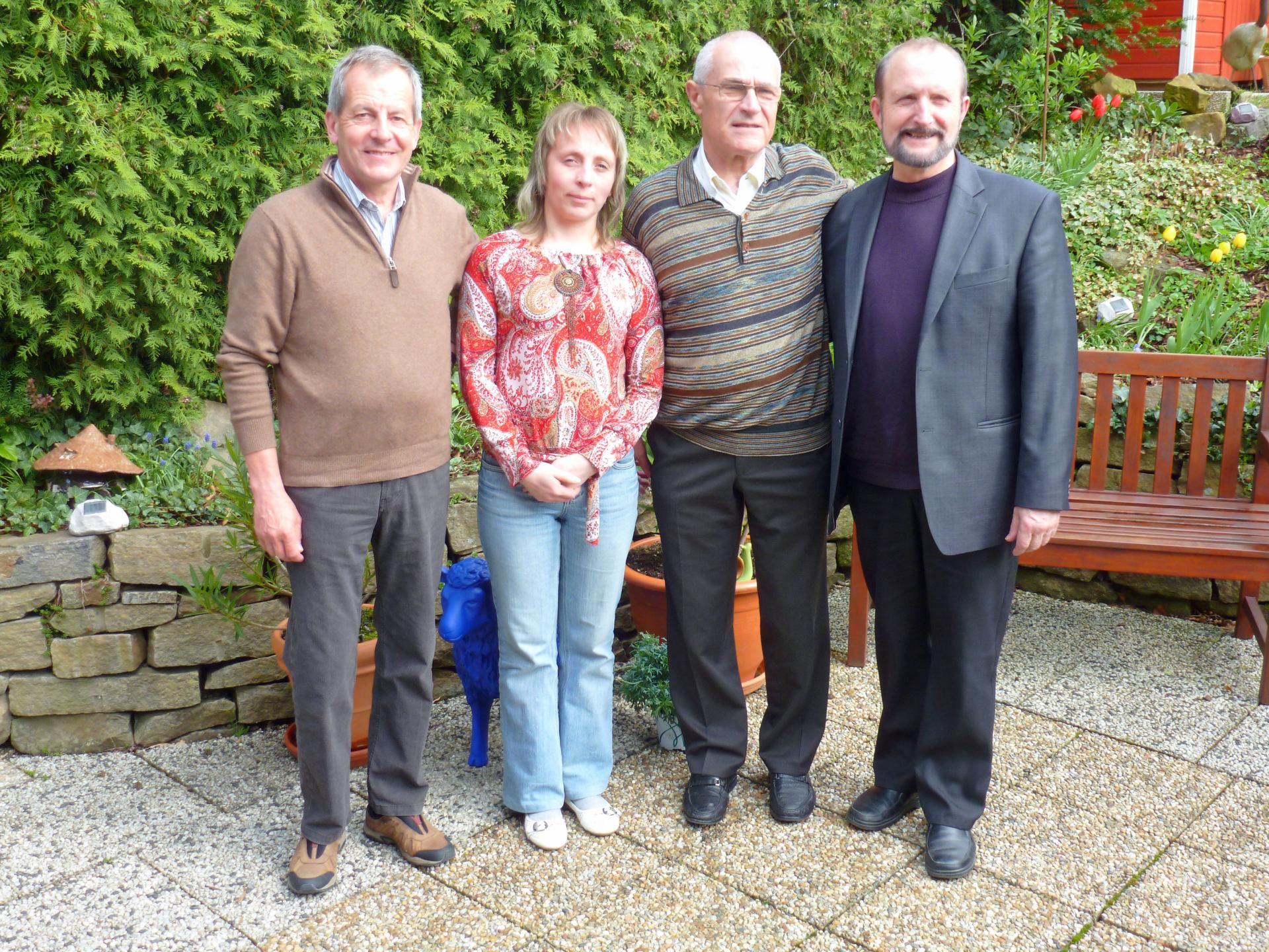 Erneutes Treffen mit unseren Belarussischen Freunden in Hagen (D)