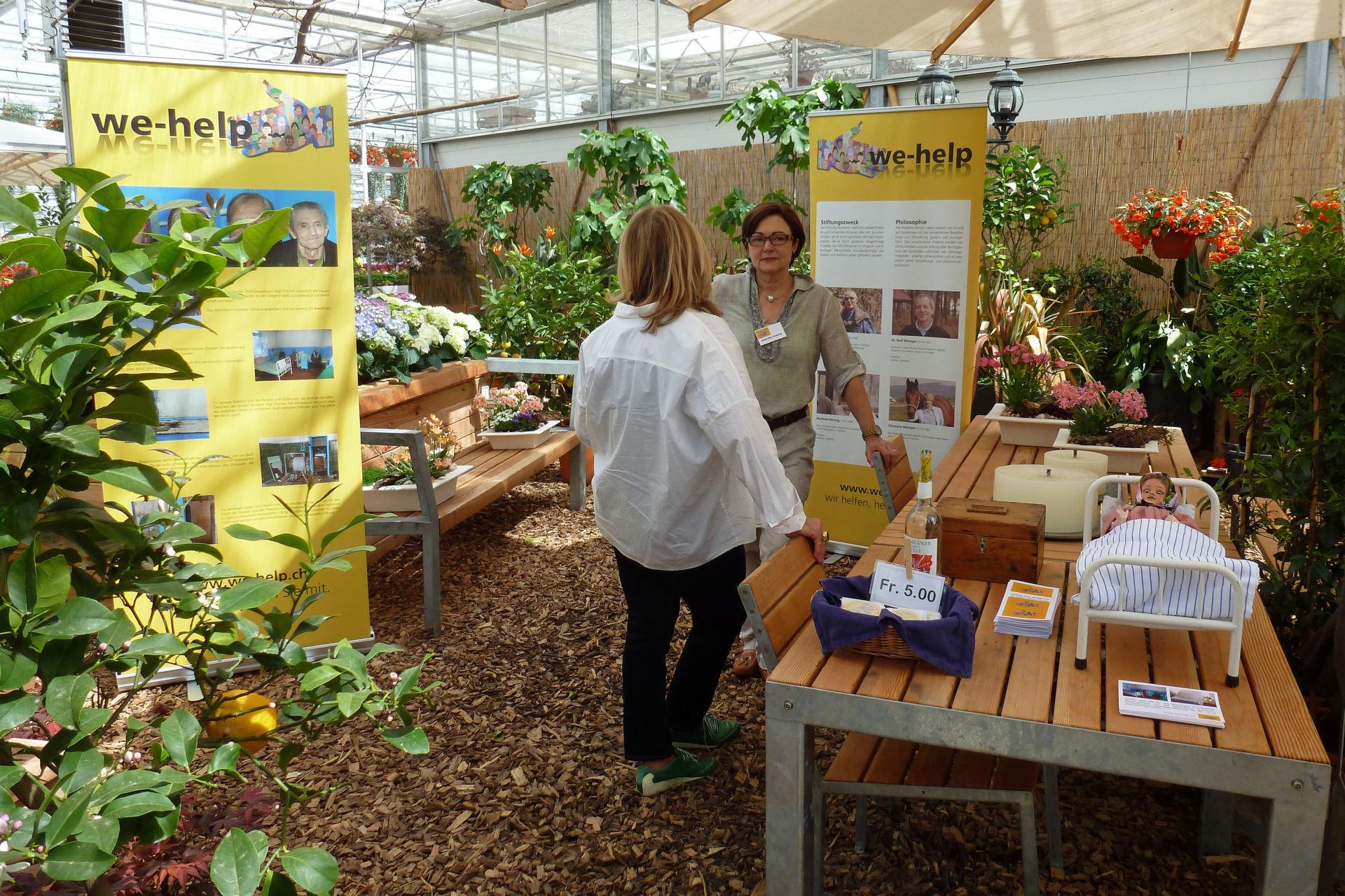 Frühlingsausstellung in der Gärtnerei Allemann