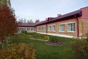 Das Altersheim mit dem neuen Dach