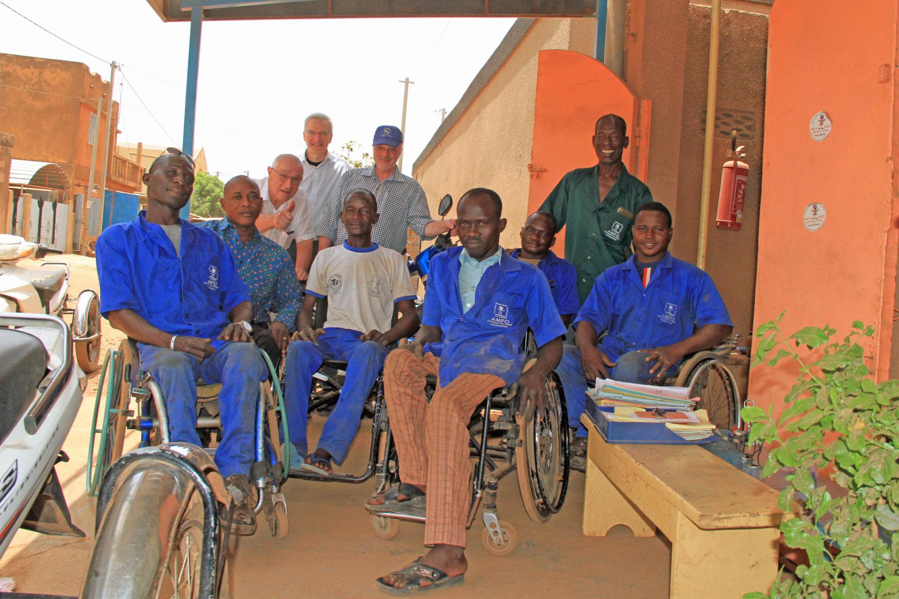 Besuch AMPO, Ouagadougou